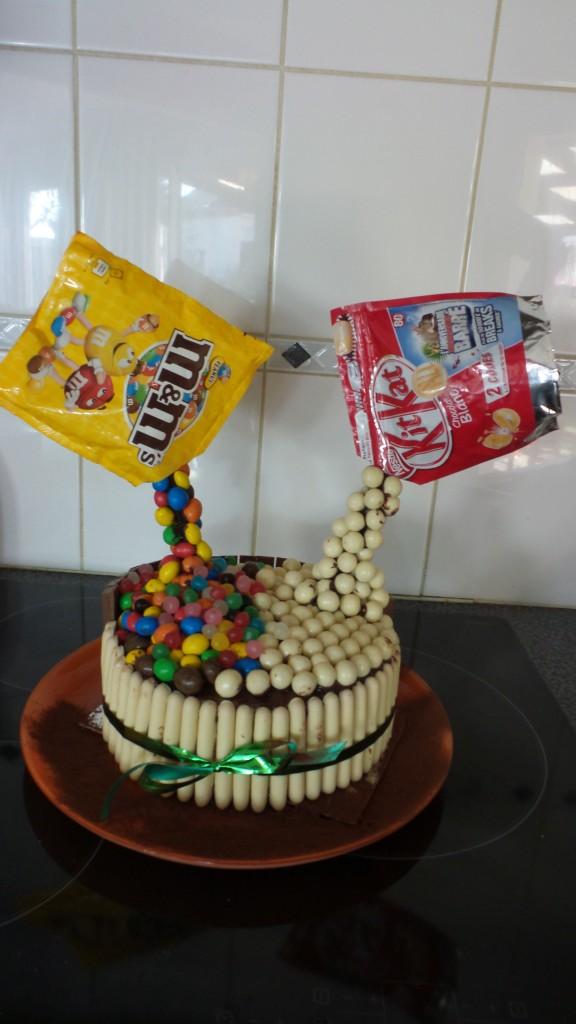 Gâteau suspendu